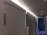 Obra nova amb il.luminació led.